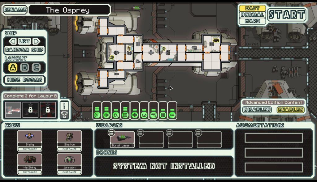 FTL 宇宙船