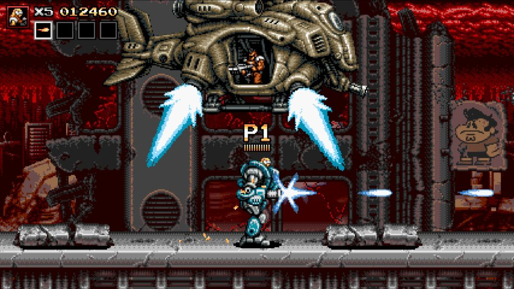 Blazing Chrome 戦闘 アーマー