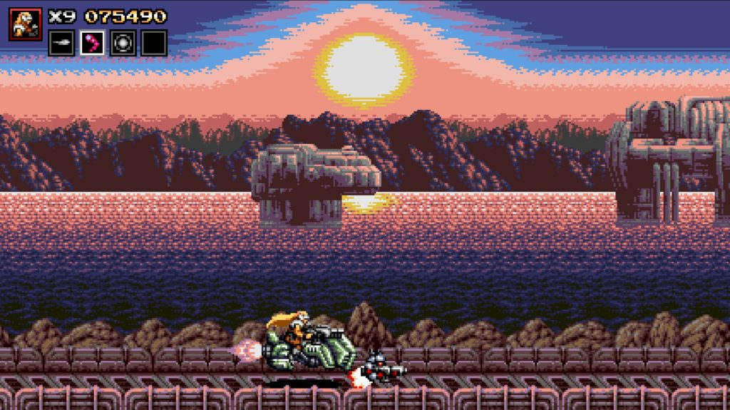 Blazing Chrome バイク