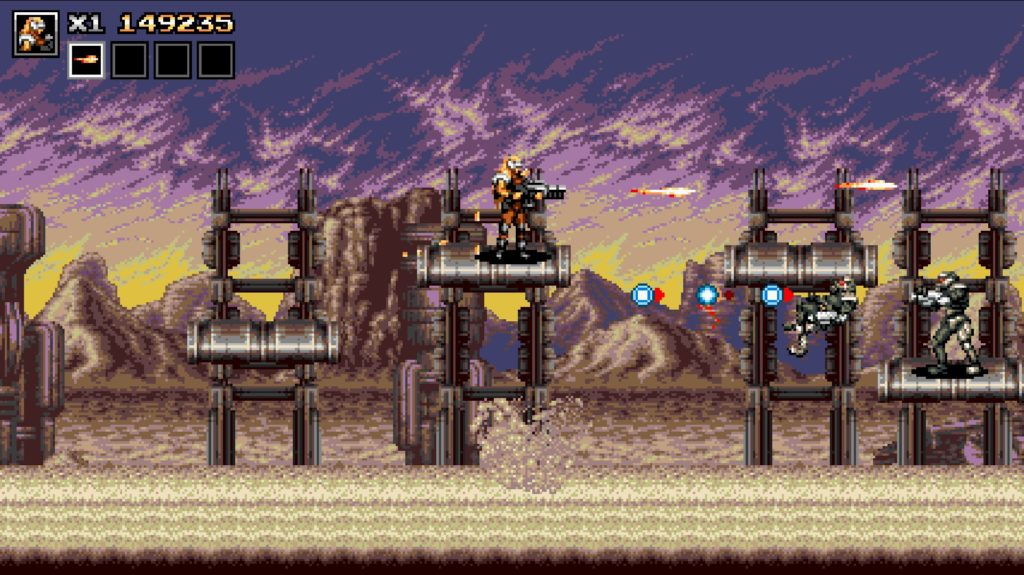 Blazing Chrome 画像