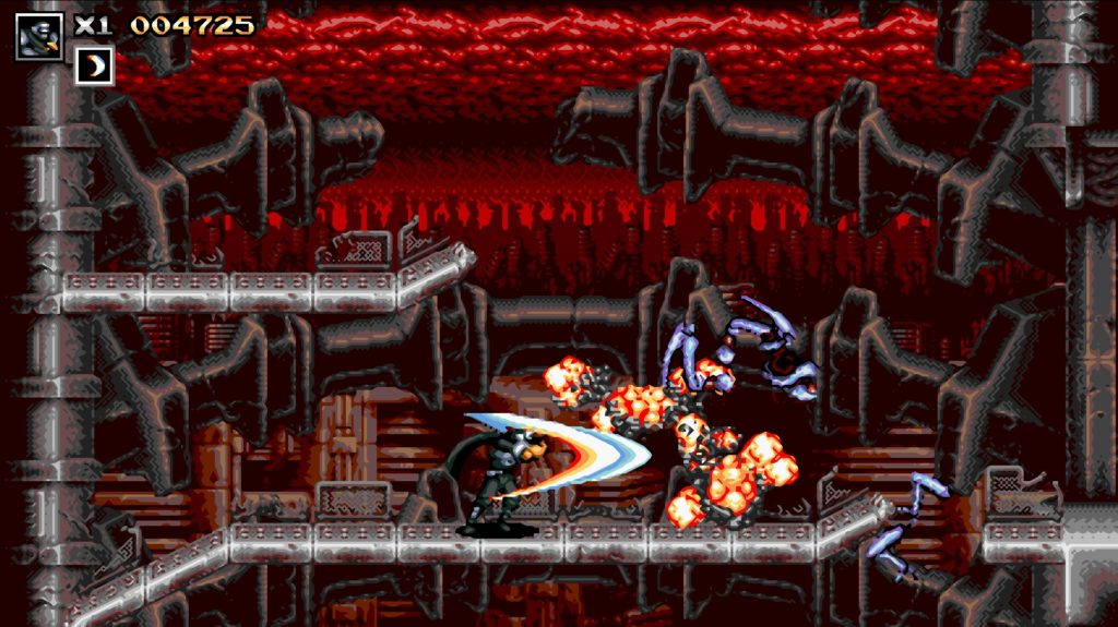 Blazing Chrome 忍者 画像