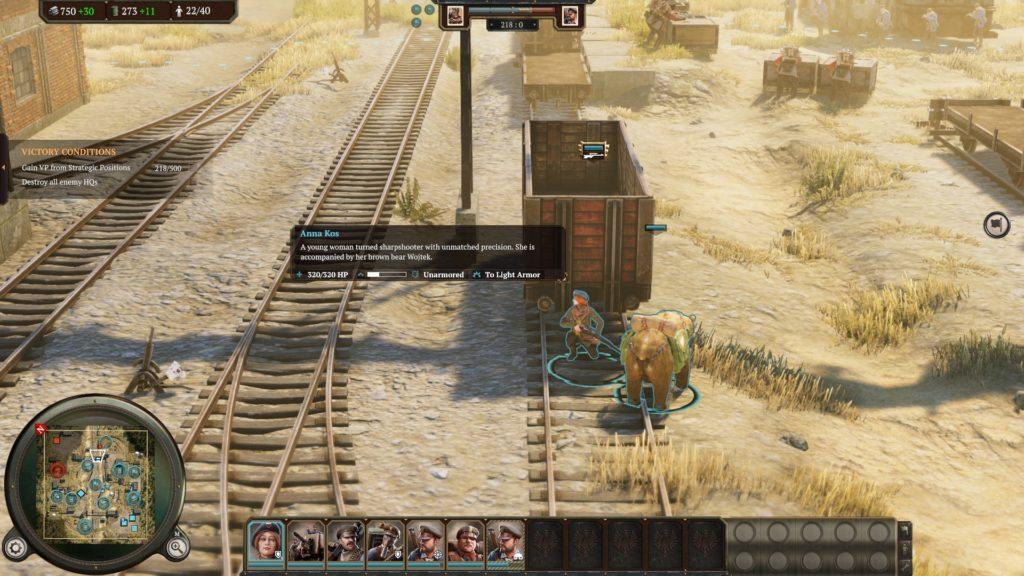 ironharvest カバー戦闘画像