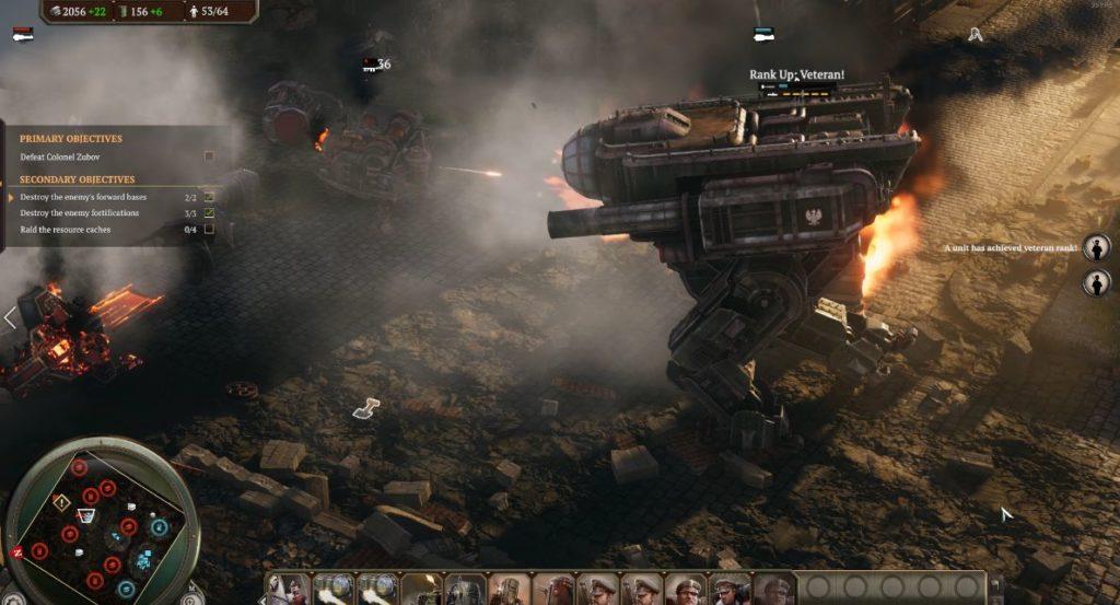 ironharvest 戦闘 画像