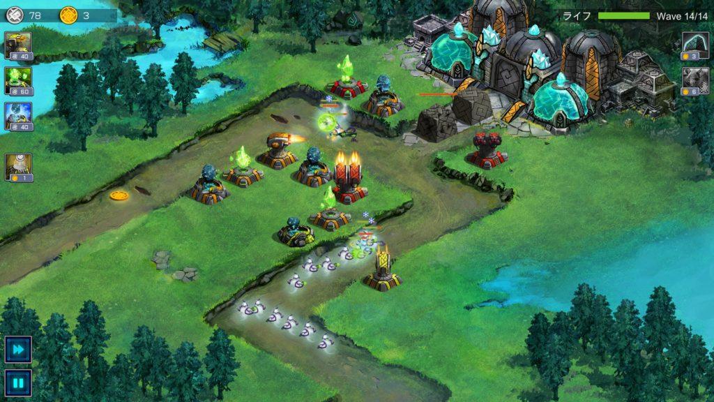 Ancient Planet 戦闘画面
