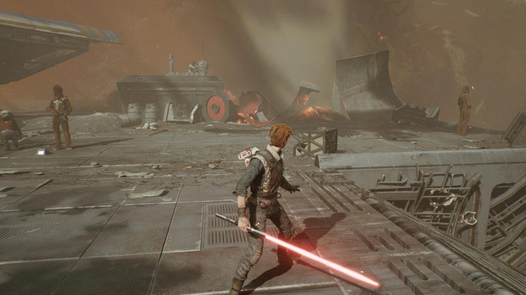 Starwars Jedi Fallenorder MOD レッドライトセイバー